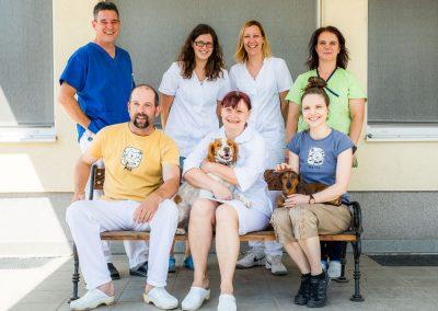 Ekipa veterinarske klinike PET VET