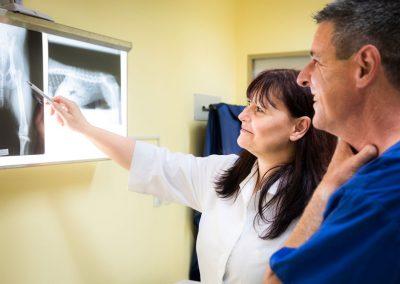 Posvet ob rentgenskih posnetkih