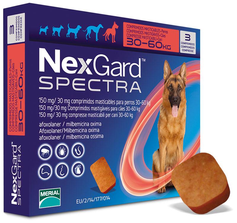NexGard SPECTRA - zaščita proti notranjim in zunanjim zajedalcem v obliki priboljškov